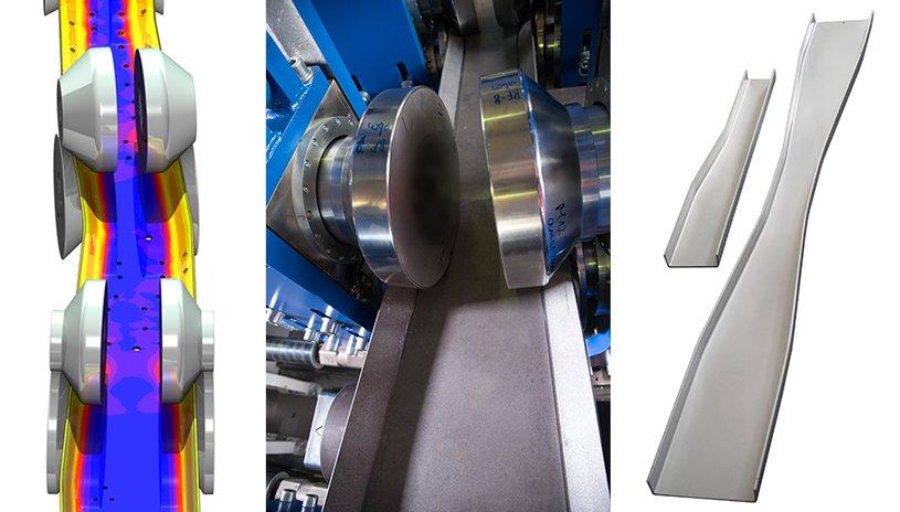 Flexible Rollforming Process