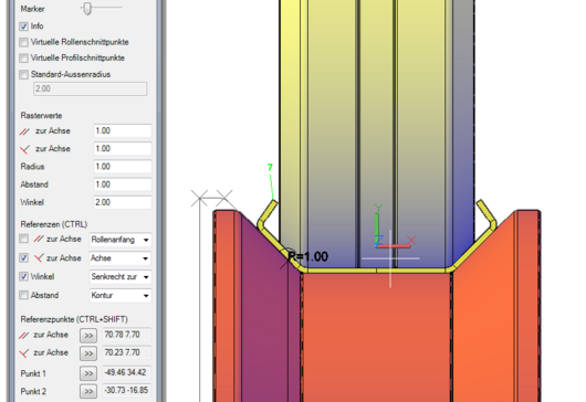 Dynamic modification of roll design with COPRA RF SmartRolls